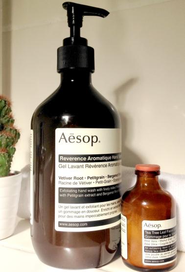 Aesop, soin, beauté, blog, my purplemint, gel lavant, gommage, plantes